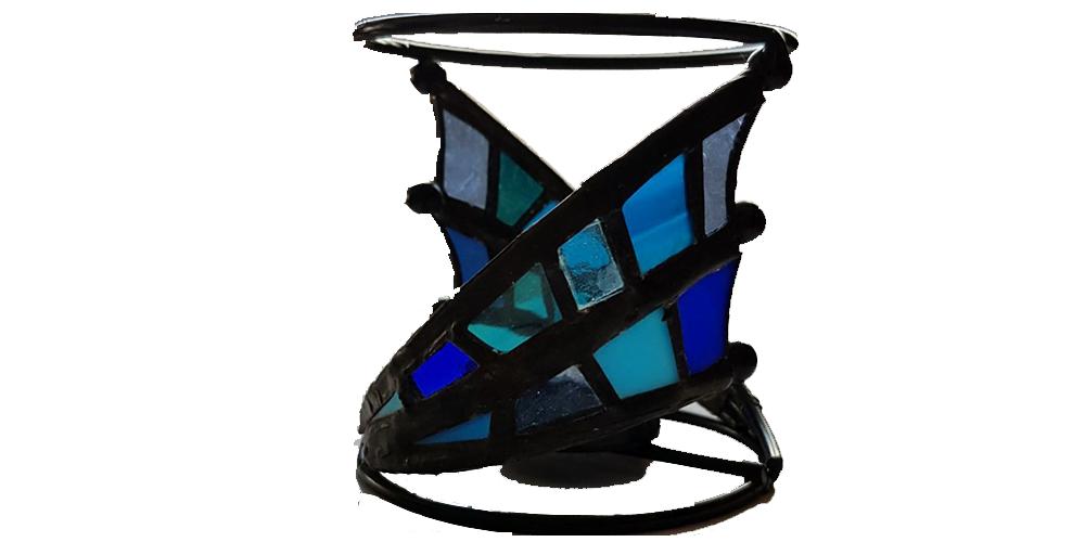 Drakenvleugel blauw